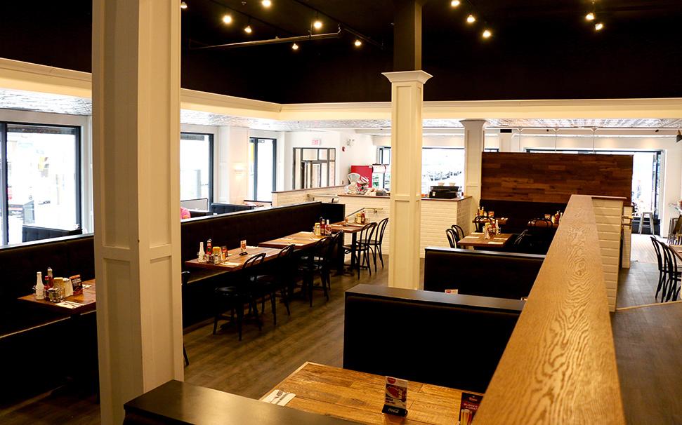 Nates Deli Dining Room Adjoining South Block Whiskey Bar
