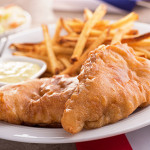 Nate's classic fish & chips